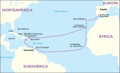 Historia y educ c vica 1 y 2 b esba orsino for Cuarto viaje de cristobal colon