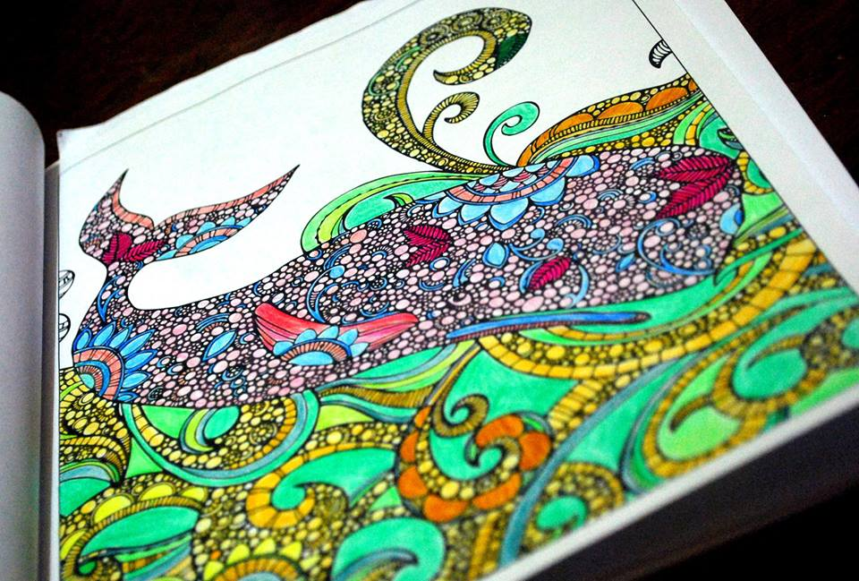 Whale From Creative Coloring Animals