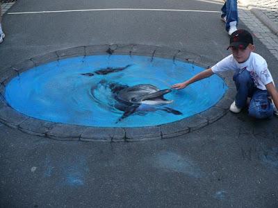 فن الرسم على الشوارع,صور رائعة ، موقع جزيرة خيال