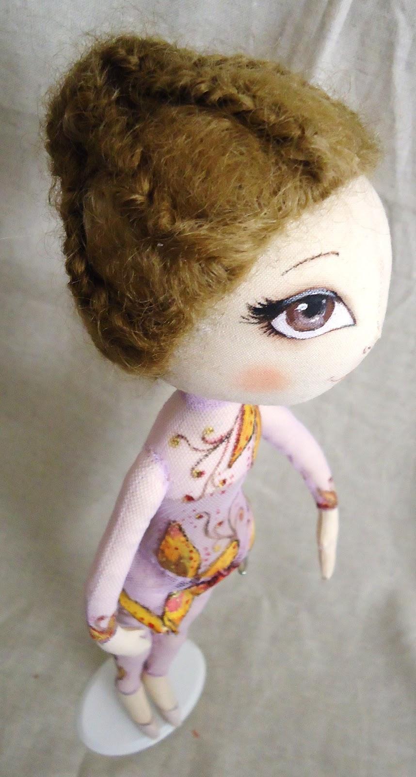 Кукла гимнастка своими руками 22