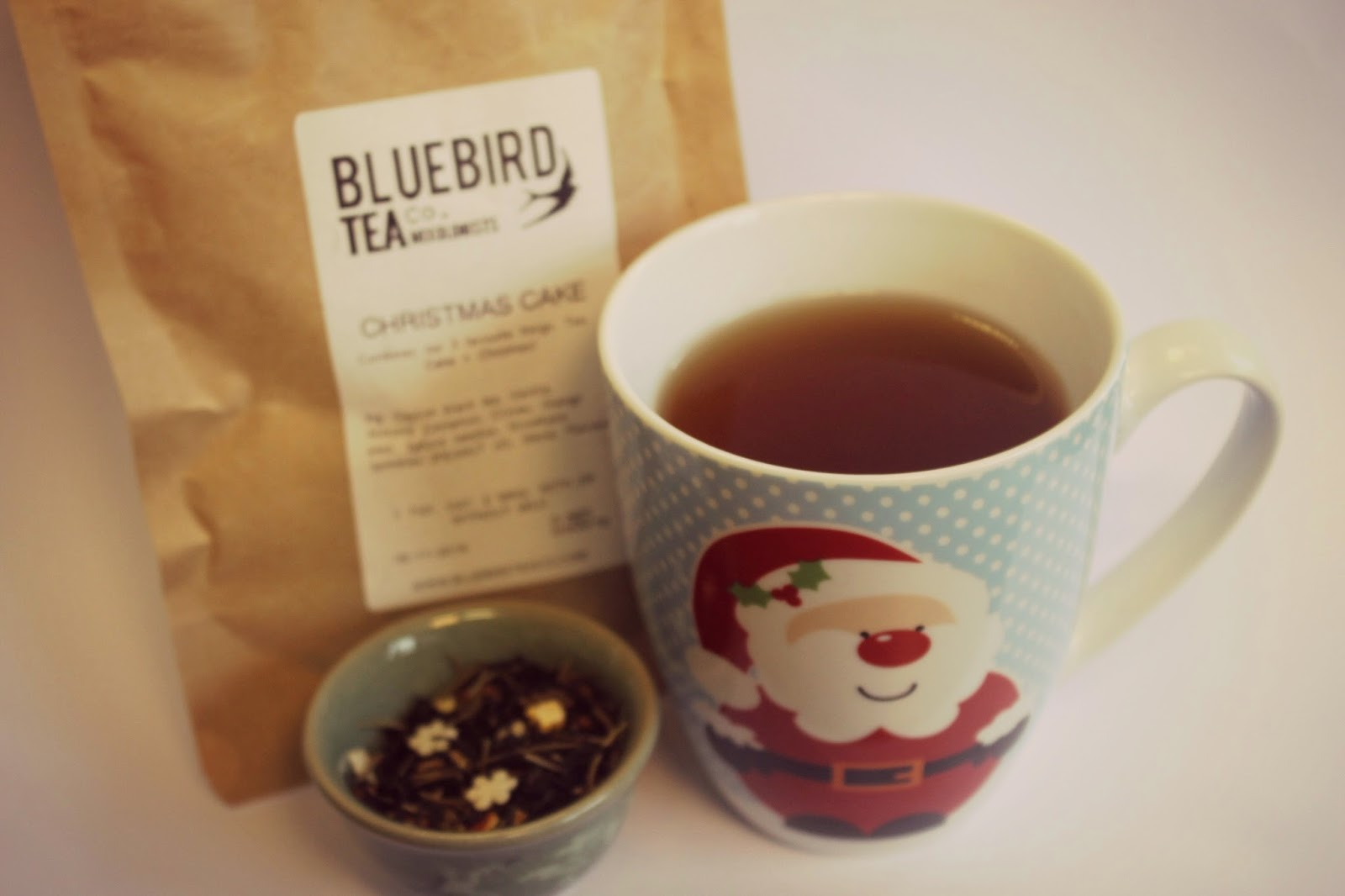 christmas cake flavoured tea