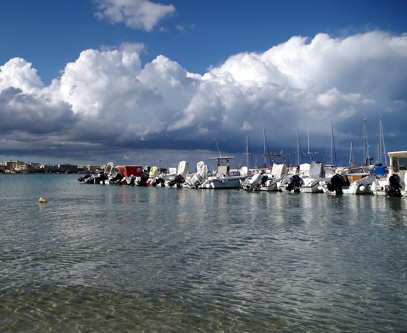 Hafen Otranto im März (Apulien)