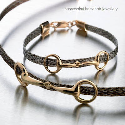 nannasalmi has invented woven horsehair jewellery