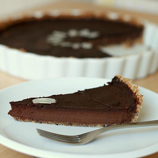 der muss haben sieben sachen ein backblog von paul bokowski 005 kokosmilch schokoladen tarte. Black Bedroom Furniture Sets. Home Design Ideas