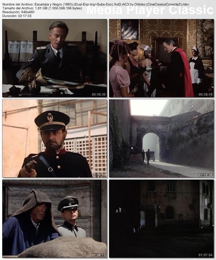 Imágenes de la película: Escarlata y negro | 1983 | The Scarlet and the Black