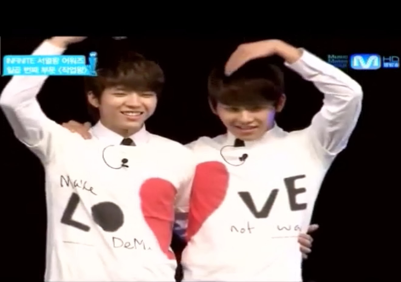 WooHyun and Hoya Love