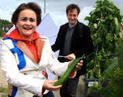Wethouder van Huffelen opent Pop-Up Greenery