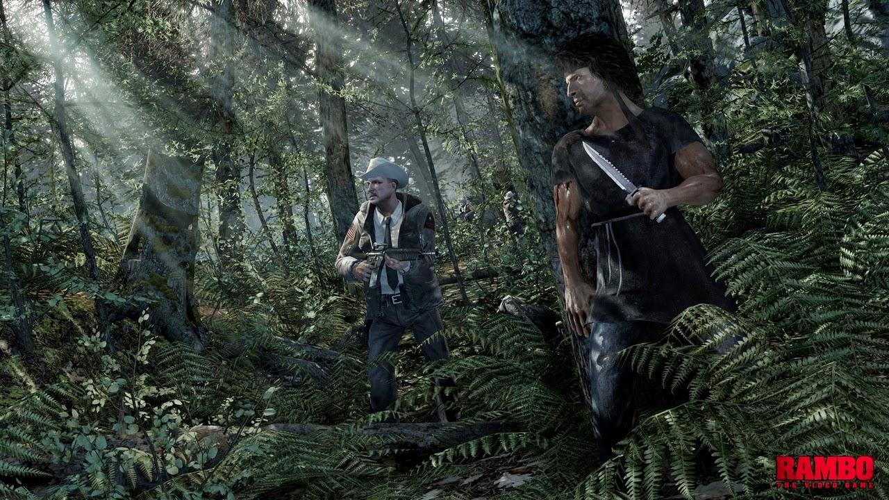 Rambo The Video Game gameplay