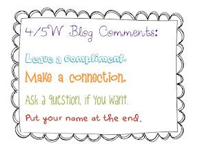 4/5W Blog Comment Criteria: