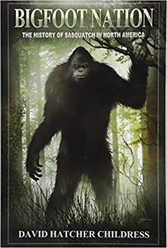 Monthly Book Cover Contest Winner: Bigfoot Nation