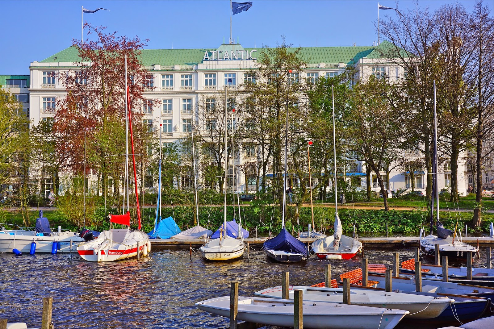 Picture of Atlantic Kempinski Hotel in Hamburg, Germany.