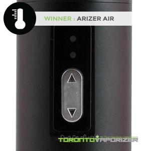 Temperature Flexibility Winner - Arizer Air