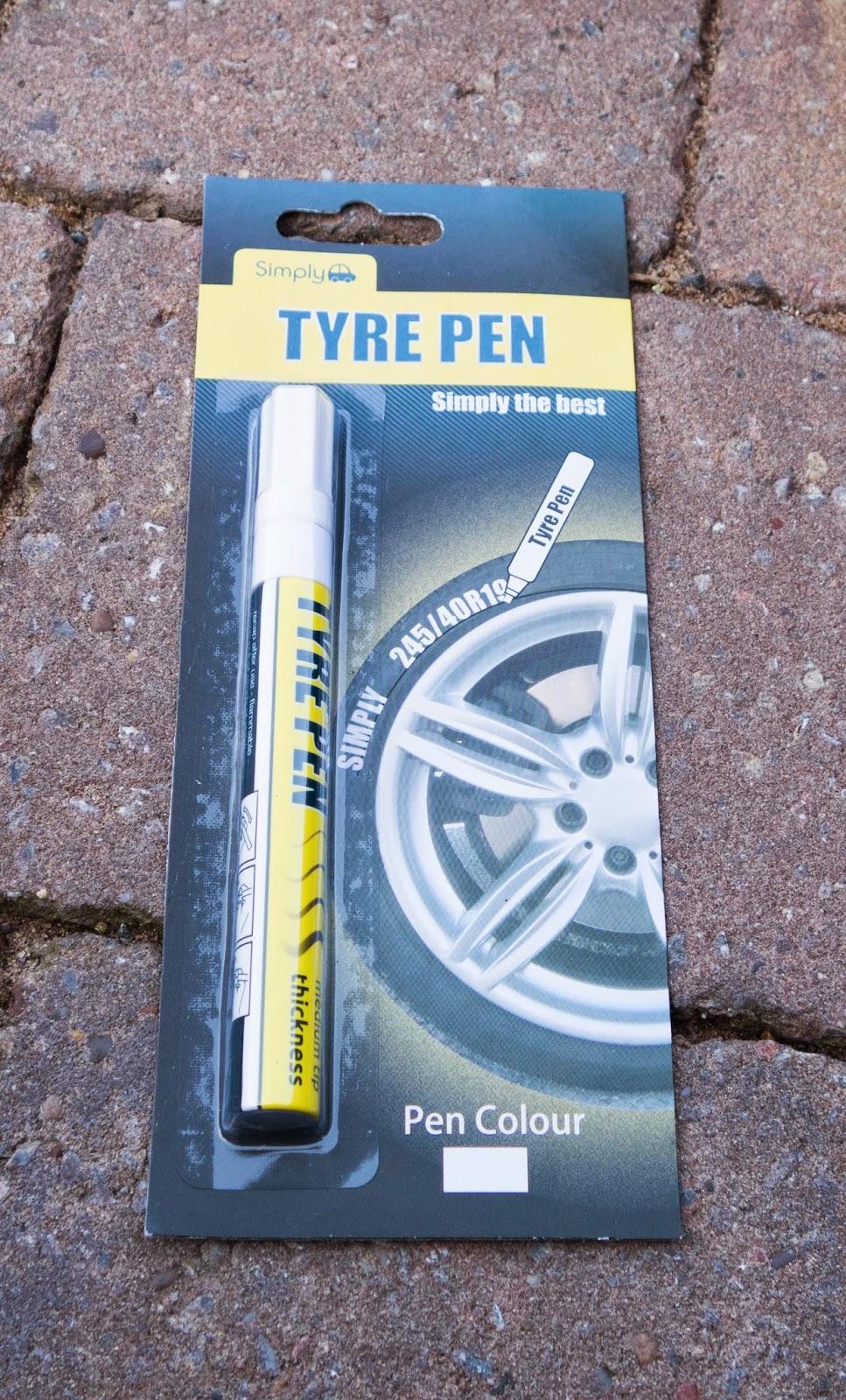 Tyre Wall Paint Pen