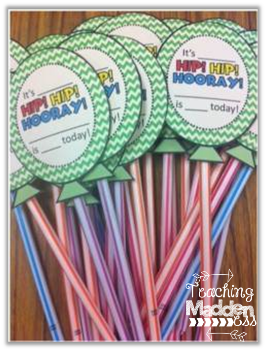 Classroom Birthday Ideas ~ Classroom birthday ideas teaching maddeness