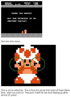 funny super mario toad