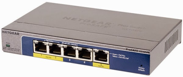Netgear ProSAFE GS105PE PoE Plus Switch