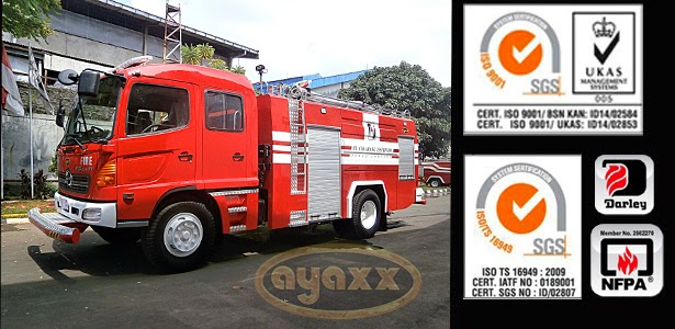 MANUFACTURE FIRE TRUCK AND LADDER INDONESIA