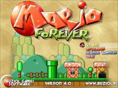 لعبة سوبر ماريو للأبد - Mario Forever