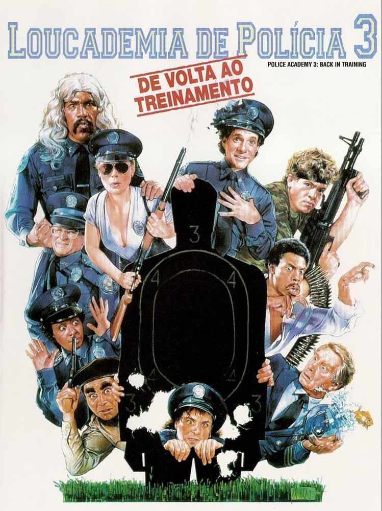Loucademia de Polícia 3: De Volta ao Treinamento Torrent - Blu-ray Rip 720p e 1080p Dual Áudio (1986)