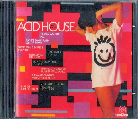 Do vinil e cd para o mp3 for Acid house 1989