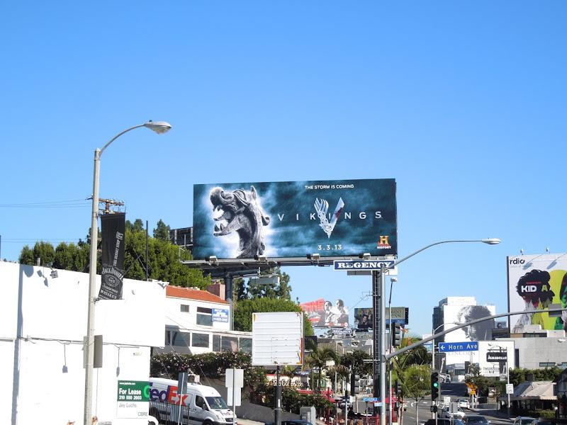 Vikings History billboard