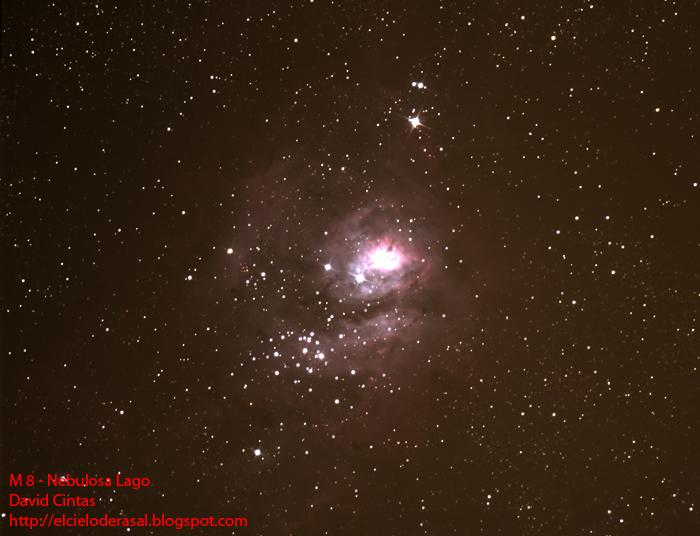 Nebulosa Lago Messier 8 El cielo de Rasal