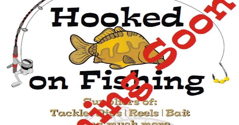 Hooked on fishing hooked on fishing shop opening soon for Hooked on fishing
