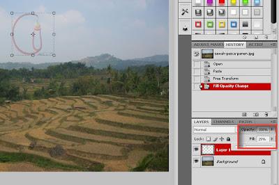 Cara Membuat Watermark dengan Photoshop