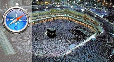 sanggup dilakukan dengan cara mengikuti kebiasaan muslim yang biasa disebut  Cara Praktis Membenahi Arah Kiblat