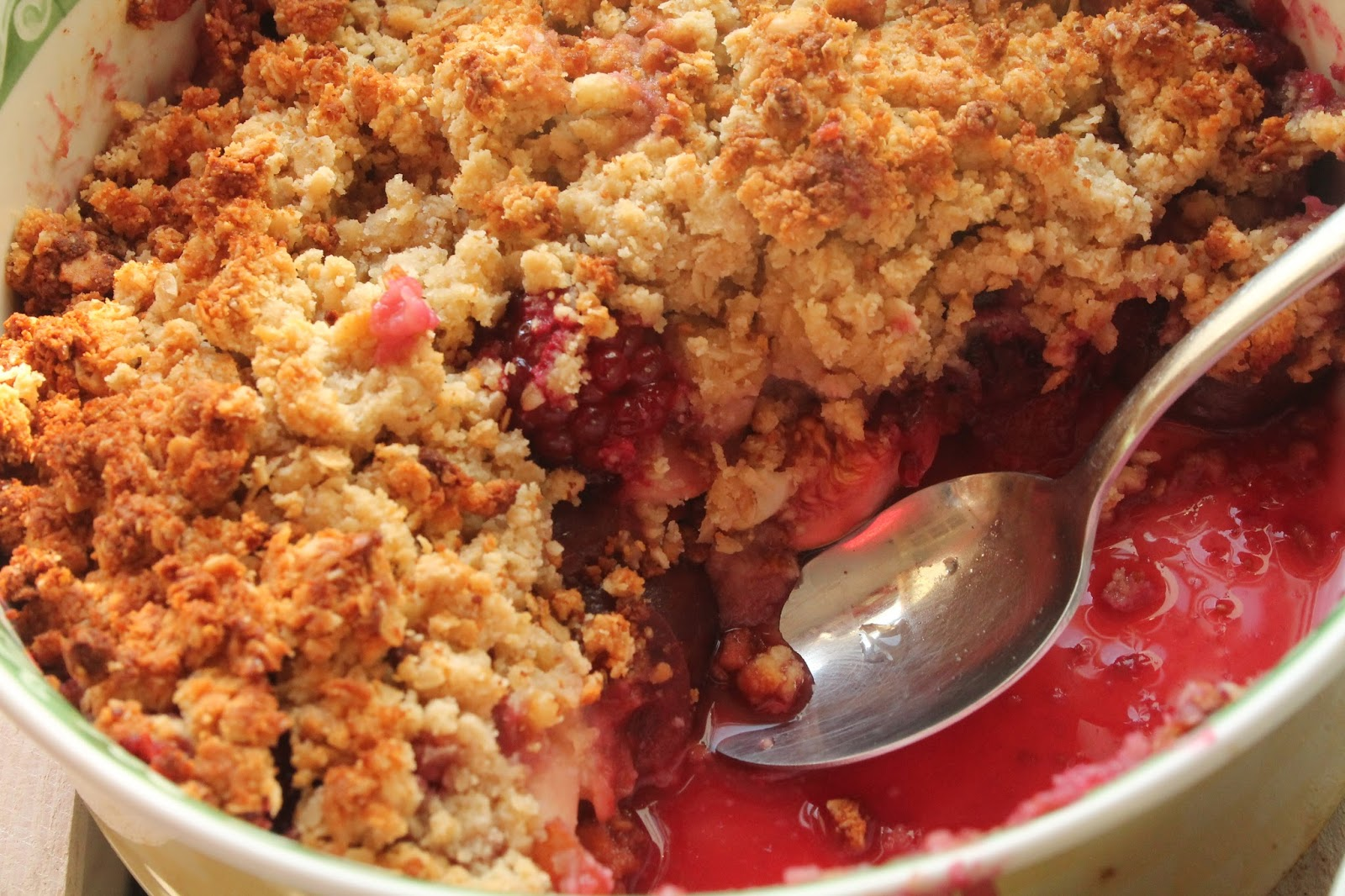 what fruits are healthy fruit crumble