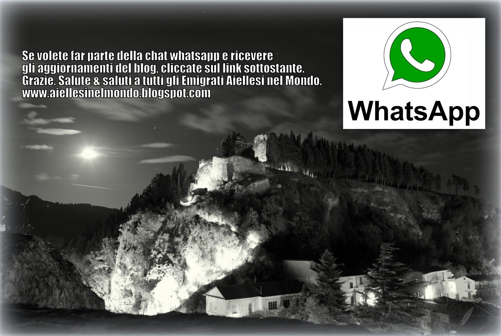 """Canale Whatsapp """"Aiellesi nel Mondo"""""""