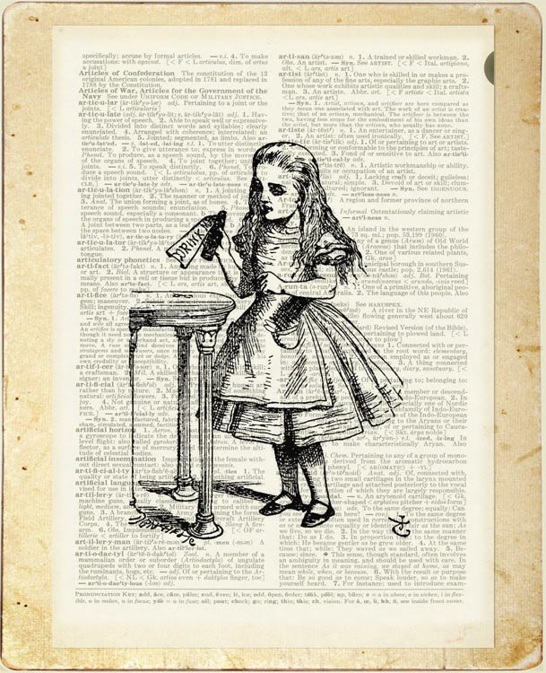 07-Alice-in-Wonderland-Jean-Cody-Vintage-Dictionary-Page-Art-Prints-www-designstack-co
