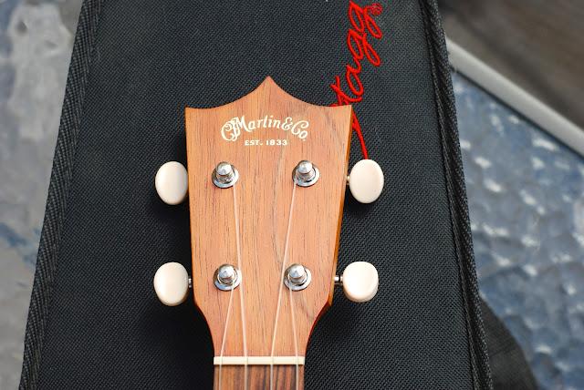 Martin T1k ukulele headstock