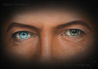 David Bowie Print by Natalie VonRaven