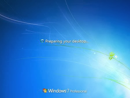 Proses Akhir install Windows