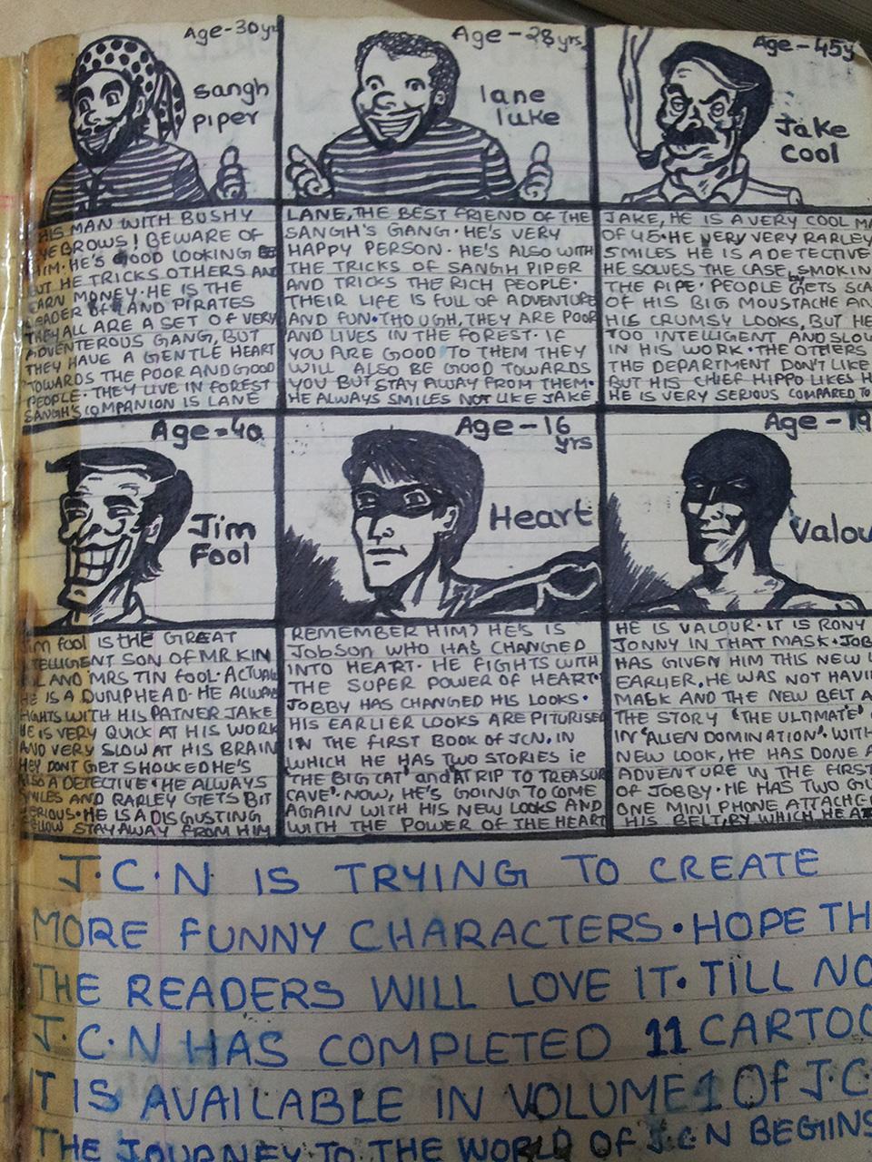 Evolution of Lt Blak Comics