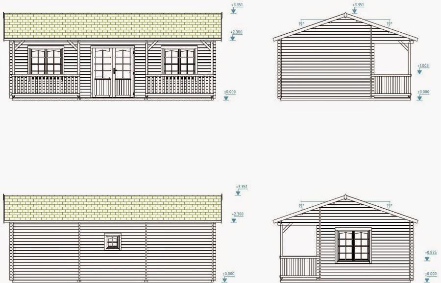 Casas de madera baratas bungalow de madera wendy for Casetas para huertos baratas