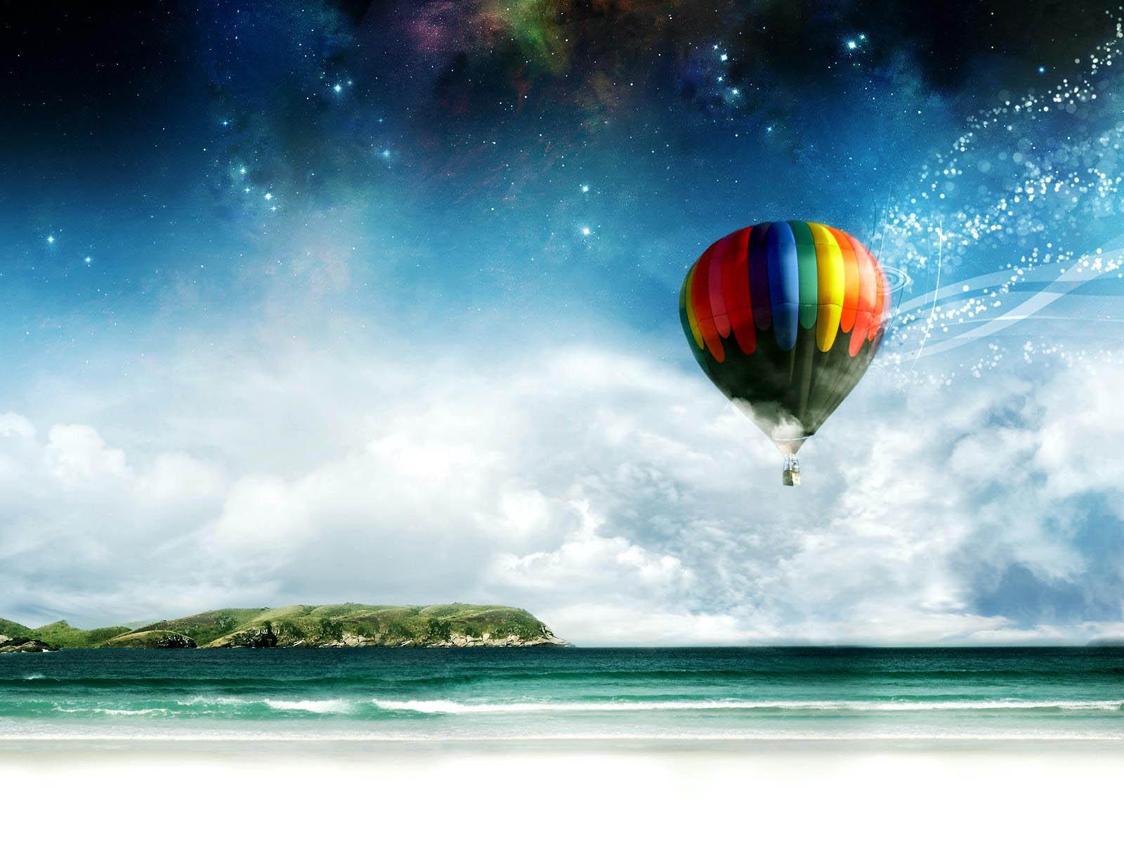Gambar Gambar Balon Udara Yang Cantik