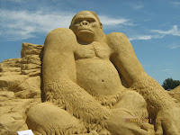 Пясъчни фигури от Бургас