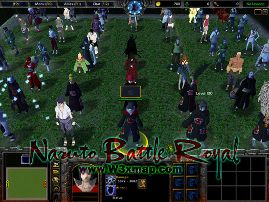 Download Map Dota Naruto Battle Arena Terbaru