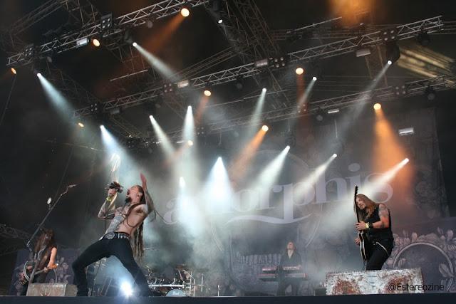 Amorphis en Tuska Open Air 2013