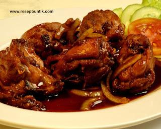 Resep masakan ayam yaitu Resep Masak Ayam Bumbu Kecap Super Cepat, mirip dengan ayam bakar, bumbu ayam bakar lezat.