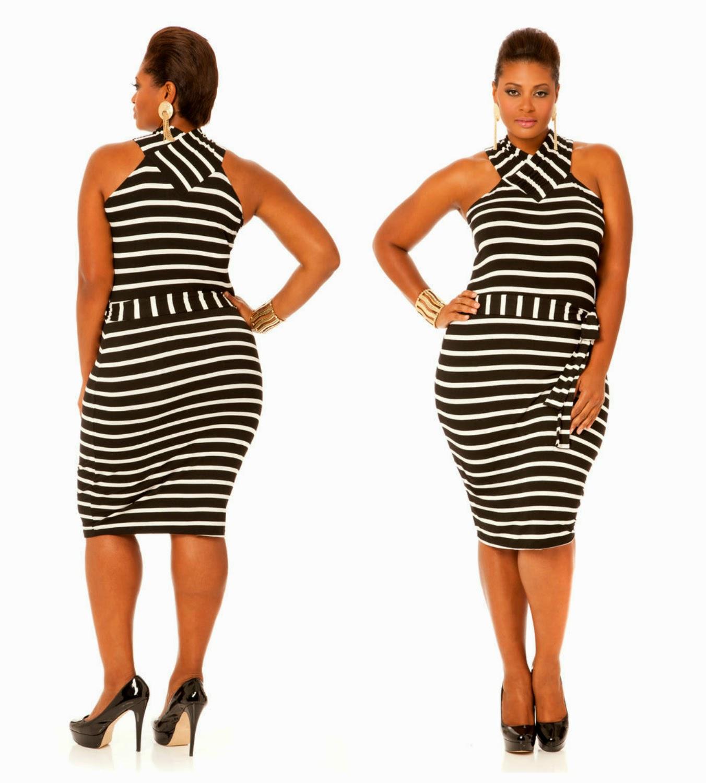 Fashion} Love...Need...Want...Striped Tee Shirt Dress | Curvatude ...