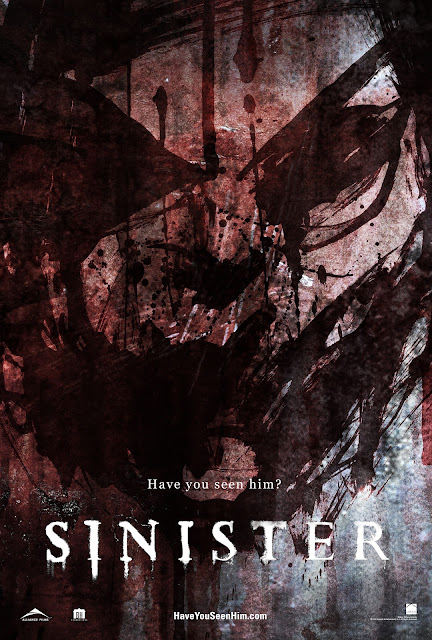 SINISTER movie poster (Copyright by respective production studio and/or distributor.)