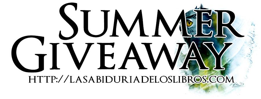 http://www.lasabiduriadeloslibros.com/2014/07/summer-giveaway-5-libros-y-2-ganadores.html