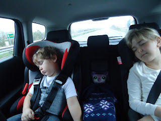 Asleep in the Chevrolet Orlando