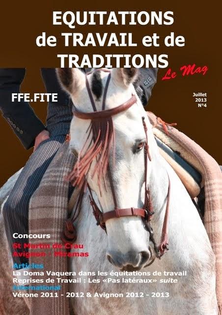 Magazine des Equitations de Travail