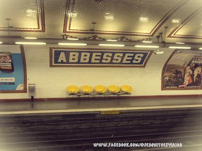 El Paris de Amelie, metro de abbesses