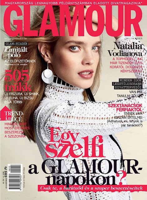 Model @ Natalia Vodianova - Glamour Hungary, October 2015