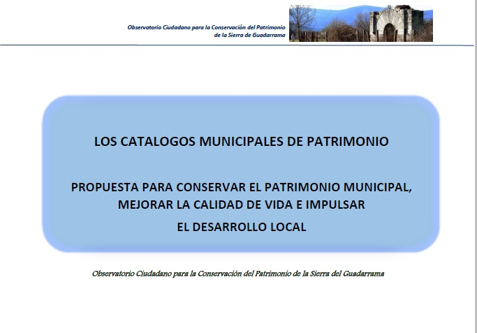 Documento Catalogo Patrimonio